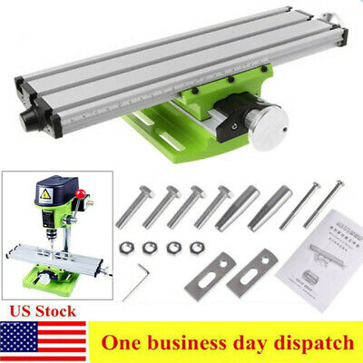 $37.90 • Buy Milling Machine Worktable Compound Cross Sliding Table Bench Drill Vise Fixture