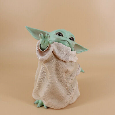 $16.99 • Buy US StarWars Baby Yoda Action Figure The Mandalorian For Children Yoda Toy Gift