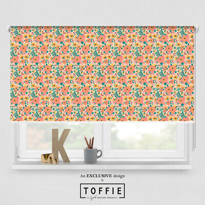198- Spring Meadow Bright Roller Blind -various Sizes, Blackout FREE UK Delivery • 35£