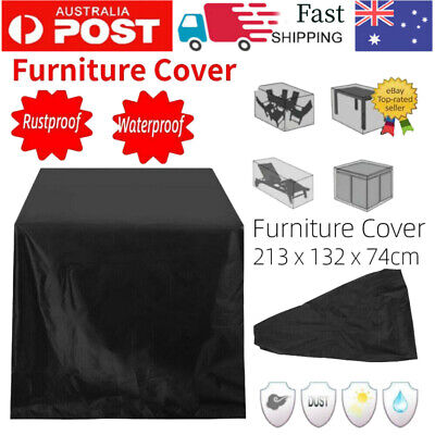 AU20.79 • Buy AU Waterproof Outdoor Furniture Cover Garden Patio Rain Snow  Table Protector