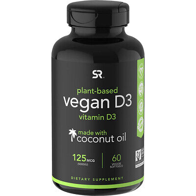 $17.99 • Buy Sports Research Vegan Vitamin D3 Dietary Supplement - 60 Softgels
