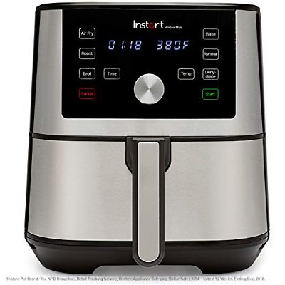 $129.88 • Buy Instant Vortex Plus 6-in-1 Air Fryer, 6 Quart, 6 One-Touch Programs, Air Fry,