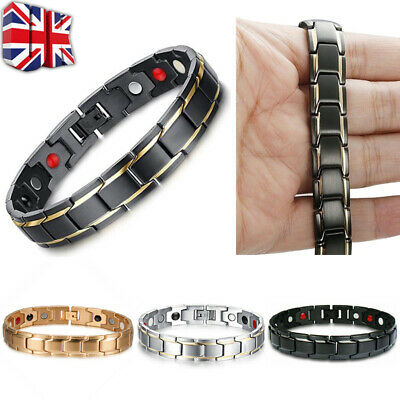 Magnetic Health Bracelet Carpal Tunnel Relief Arthritis Bio Therapy Chronic Pain • 2.29£