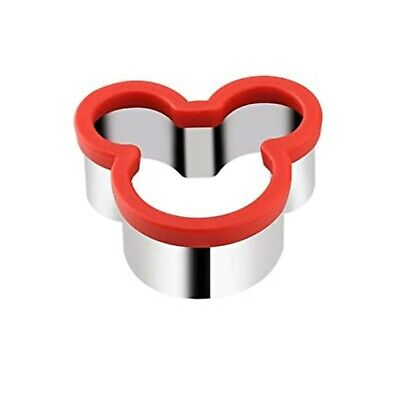 Kids Sandwich Cutter Mickey Shape Cookie Biscuit Pastry Baking Stainless Steel • 7.29£