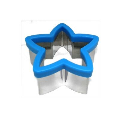 Kids Sandwich Cutter Star Shape Cookie Biscuit Pastry Baking Stainless Steel • 7.29£