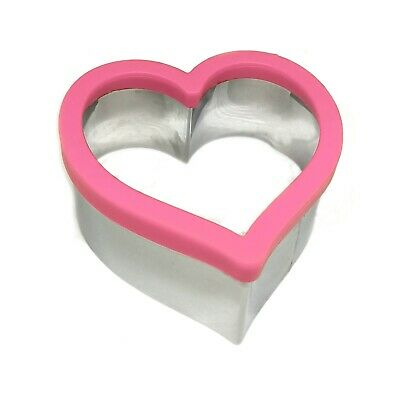 Kids Sandwich Cutter Heart Shape Cookie Biscuit Pastry Baking Stainless Steel • 7.29£