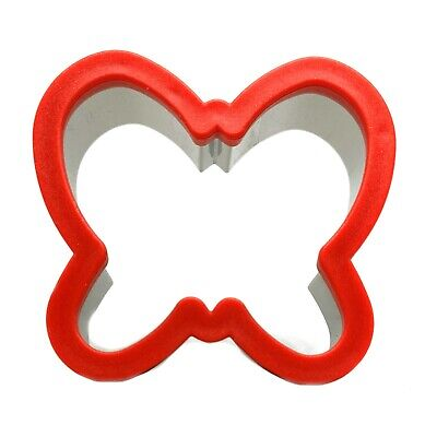 Sandwich Cutter Butterfly Shape Cookie Biscuit Pastry Baking Stainless Steel • 7.29£