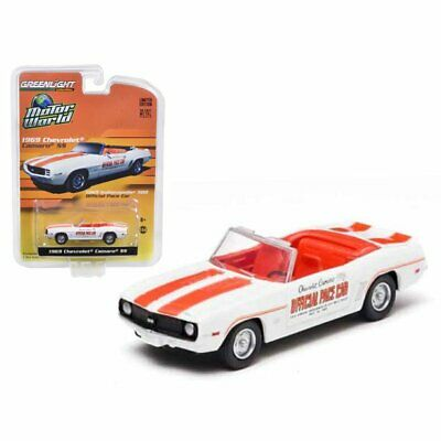 $5.95 • Buy Greenlight 96085 1:64 1969 Chevrolet Camaro Rs/ss Indy 500 Pace Car
