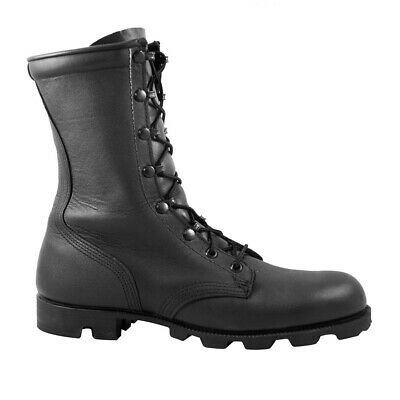 $99.99 • Buy McRae 10  Style 6189 All-Leather Combat Panama Sole Blem Boots, Black