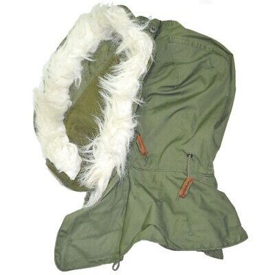 $32.99 • Buy New GI M-65 Extreme Cold Weather Fishtail Hood 65% Cotton 35% Nylon Made In USA