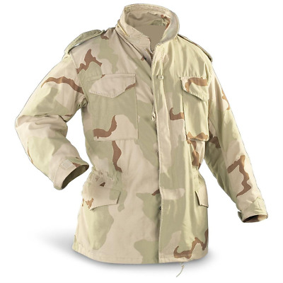 $39.99 • Buy Genuine US Military Issue M-65 Jacket, 3 Color Desert, Used, Made In USA M65