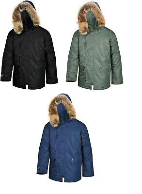 $89.99 • Buy Valley Apparel Men's N3B Snorkel Winter Parka Made In The USA
