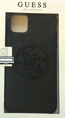 Guess Hard Case Silicone Logo Black For IPHONE 11 Pro Max • 22.46£