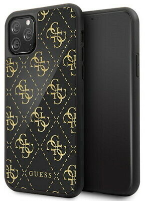 Guess TPU Case 4G Glitter For IPHONE 11 Pro Black Gold • 21.57£