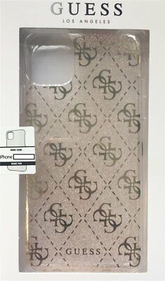Guess TPU Backcover Hard Case 4G Glitter IPHONE 11 Pro Max 6,5   Gold • 19.61£