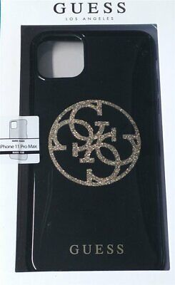 Guess Case Glitter 4G Circle Logo IPHONE 11 Pro 5,8   Black Gold • 24.43£