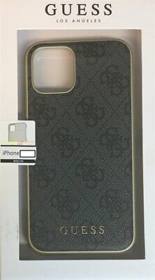 Guess 4G Hard Case Charms IPHONE 11 Pro Max 6,5   Grey Cover • 21.50£