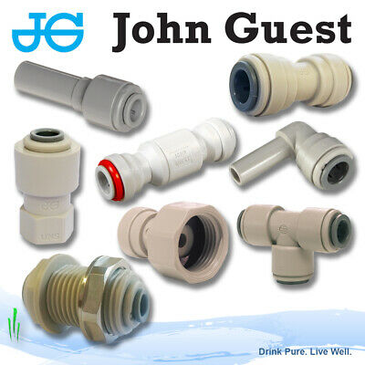 £3.60 • Buy John Guest 5/16  Push Fit Fittings Drinks, Dispense, Ro Units, Brewery