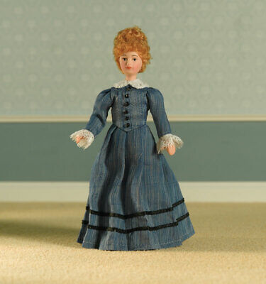 1/12 Scale Dolls House Emporium Victorian Lady Miss Mason Doll Porcelain 5678 • 14.95£