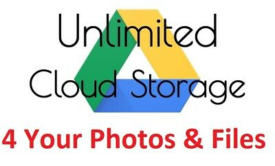 AU19.99 • Buy Unlimited Google Drive Storage In Your Name 🔥 Fast Delivery 🔥 4 Life 🔥 Custom