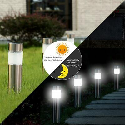 6x Solar Powered Garden Lights Stake Light Post Patio Lawn Outdoor LED Lighting • 19.29£