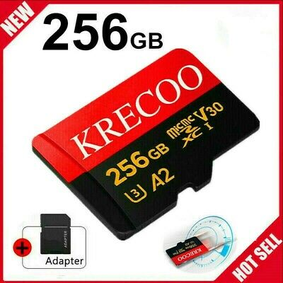 $11.11 • Buy 256GB Micro Memory Card 10 Fast 4K Class10 Flash TF Card With Adapter&Car&Camera