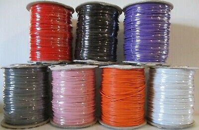 Model Railway Layout Wire Roll 16/0.2mm 3A PICK YOUR OWN COLOUR + LENGTH • 2.99£