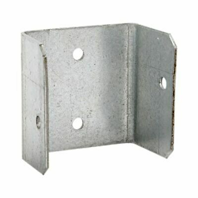 GALVANISED FENCE / TRELLIS PANEL BRACKET CLIPS - 32mm 38mm 44mm 50mm GALV CLIP • 7.99£