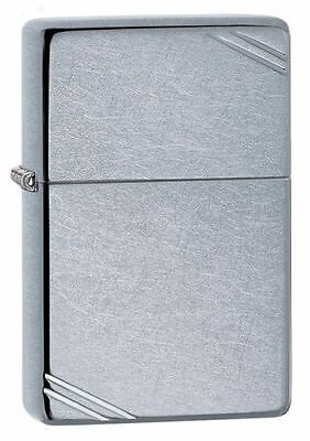 $10.75 • Buy Zippo 267, 1937 Replica, Street Chrome Finish Lighter, **6 Extra Flints & Wick**
