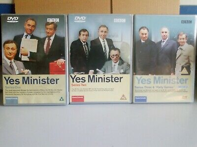 Yes Minister Seasons 1-3 DVD • 4.99£