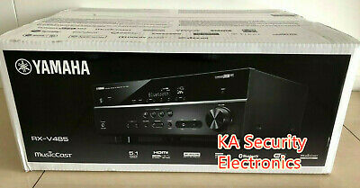 AU750 • Buy Yamaha RX-V485  5.1 Channel AV Receiver With MusicCast Surround