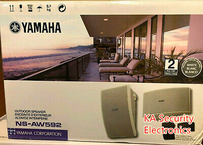 AU450 • Buy Yamaha Outdoor Speakers NS-AW592 All  Weather  Home Outdoor Audio With Brackets