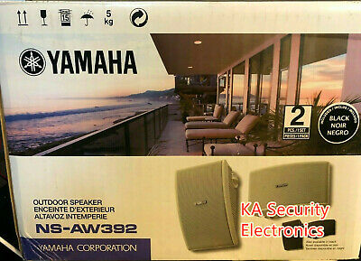 AU350 • Buy Yamaha Outdoor Speakers NS-AW392 All  Weather  Home Outdoor Audio With Brackets