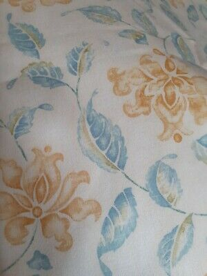 Pretty Pair Curtains 66 Wide  X 54 Long . Tab Tops Uk Post Free • 16£