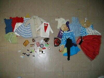 $ CDN57.15 • Buy Large Lot Of Vintage Barbie And Handmade Clothing And Accessories
