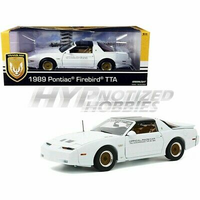 $48.90 • Buy Greenlight 1:18 1989 Pontiac Turbo Trans Am (tta) Indianapolis Pace Car 13576