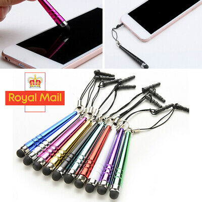 10 X Touch Screen Stylus Pens Capacitive For All Mobile Phone Tablet IPad IPhone • 2.98£