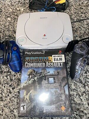 $59 • Buy Sony PlayStation One PS1 Mini Classic Console Game System + Controller+ Sealed