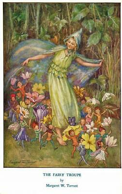 Early MARGARET TARRANT The Fairy Troupe Children's  Fairy Fantasy  Postcard • 4£