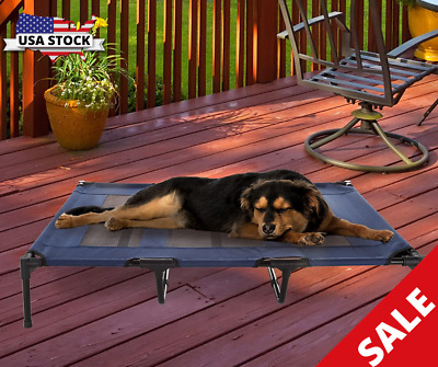 Extra Large DogBedsForLargeDogsClearance OutdoorXLRaisedElevated Cooling • 51.44£