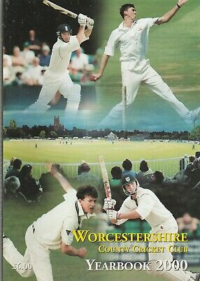 Worcestershire County Cricket Club Yearbook 2000 • 8£