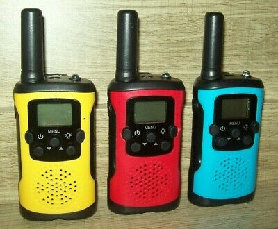 $ CDN36.70 • Buy 3 Pack Walkie Talkies For Kids 22 Channels 2 Way Radio 3 Miles Long Range