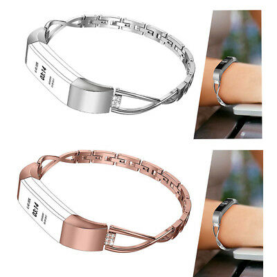 AU16.99 • Buy Bling For Fitbit Alta HR Stainless Steel Bracelet Watch Band Jewelry Strap Belt