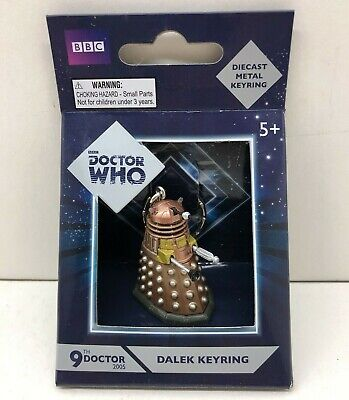 Dr Who Gold Dalek Collectable Die Cast Keyring - Mint In Box • 5.99£