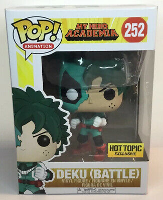 $24.99 • Buy Funko Pop Animation My Hero Academia Deku Battle 252 Exclusive