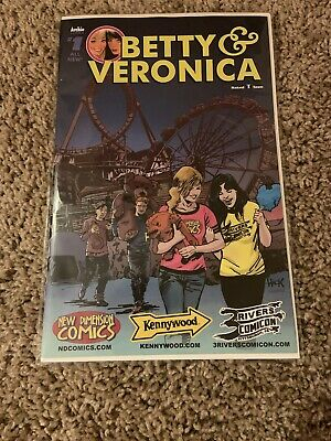 $5 • Buy Betty Veronica New Dimension Comics Kennywood 3 Rivers Comicon Exclusive Sealed