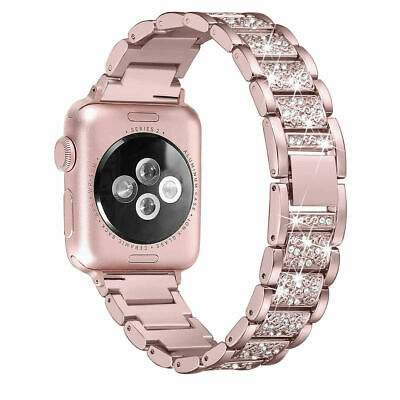 AU15.99 • Buy Stainless Steel Bracelet IWatch Band Strap For Apple Watch Series 54321 40/44MM