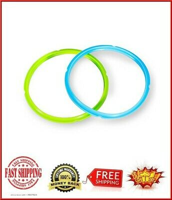 $11.03 • Buy Silicone Sealing Ring 6 Quart For Instant Pot Accessories Blue Green