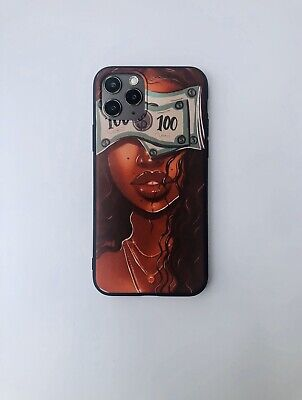 AU14.69 • Buy For IPhone 11/11 Pro IPhone Case Melanin Poppin  Queen Afro Black Girl