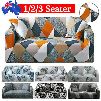 AU24.29 • Buy 1 /2 /3 Seater Sofa Cover Couch Lounge Protector Slipcovers High Stretch Covers